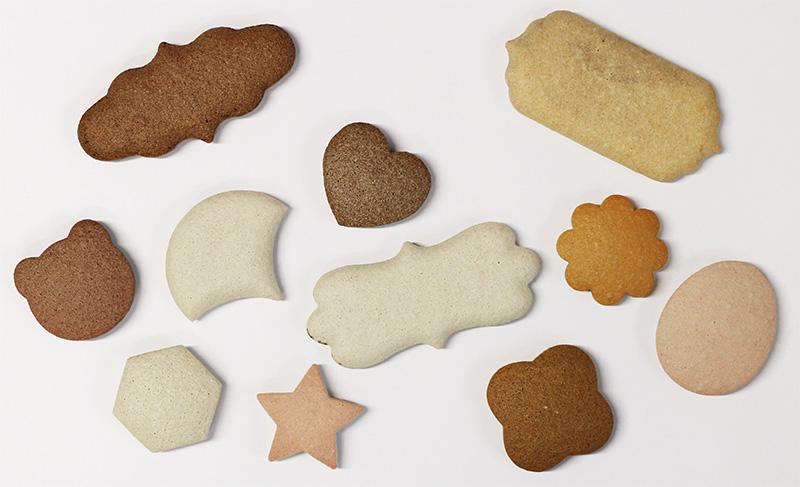 かるかるクッキータイル 試作品